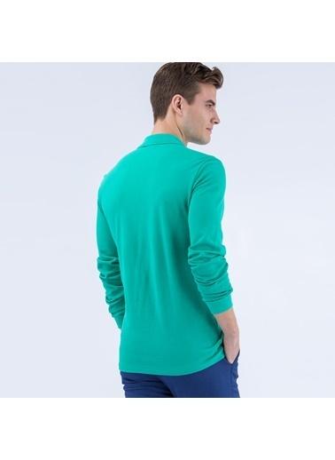 Lacoste Erkek Regular Fit Tişört L1312.Y61 Mavi